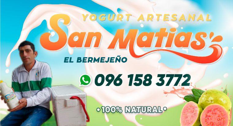 Yogurt Artesanal «San Matias» El Bermejeño